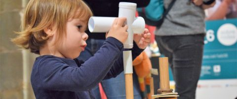 The Experimentation Fair for children from 0 to 6 years old is back in the Technical Museum