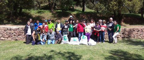 Let's clean up al parc de Can Font
