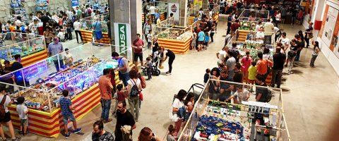 La IV Feria del Playmobil en Manresa supera el número de visitantes de la edición pasada
