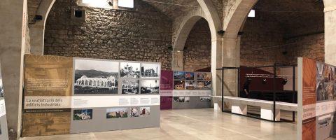 L'exposition Espais Recobrats. Els nous usos del patrimoni industrial català arrivent à Manresa