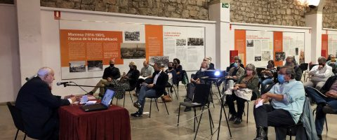 The Panyos Technical Conference reinforces the idea of ​​the Manresa factory as a mainstay of the Catalan industrial revolution